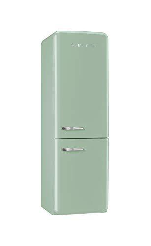 SMEG(スメッグ)2ドア冷凍冷蔵庫304L パステルグリーン FAB32 レトロスタイル