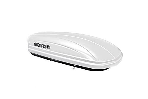 MENABO - MENABO MANIA 400 ABS WHITE Roof box - MANIA 400 WHITE