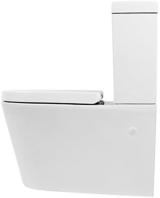 Aqua-Sigma BTP-I4CCPO  Toilette, geschlossen, Wei