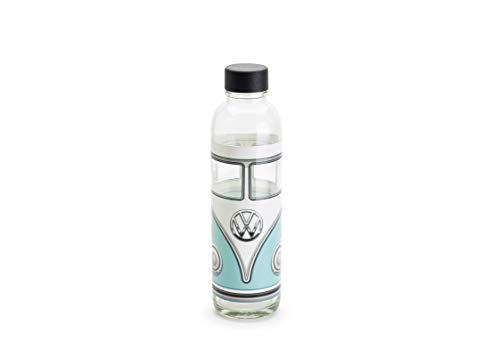 Volkswagen 1H1087703B Flasche VW T1 Bulli Trinkflasche Trinkwasserflasche, hellblau