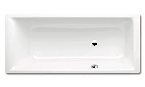 Kaldewei Badewanne Puro mit seitlichem Überlauf Modell 657 180 x 80 x 41 cm, alpinweiß