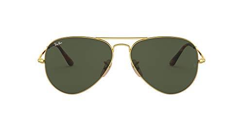 Ray-Ban 0RB3689 Gafas de sol, Gold, 58 Unisex