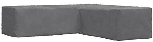 ATLANTIS Outdoor Copertura Protettivo Divano Forma di L Angolare da Giardino | 250/90 x 250/90 x 70 cm | Certificato TÜV Rheinland | Impermeabile | Resistente alle intemperie