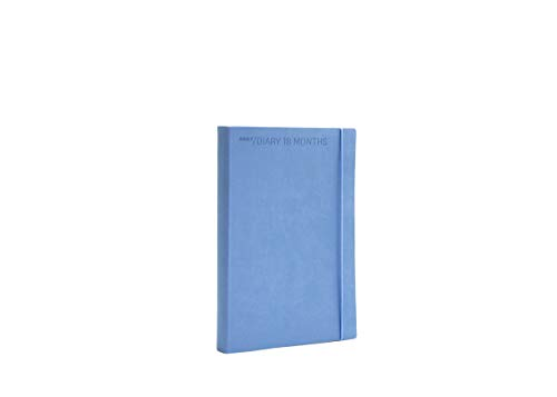 Agenda settimanale flexy diary 18 mesi 2021 colore lavanda cm 15 x 21