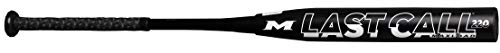Miken 2021 Last Call USSSA Maxload Slowpitch Softball Bat, 12 inch Barrel Length, 34 inch/26 oz, Black (MLC12U-3-26)