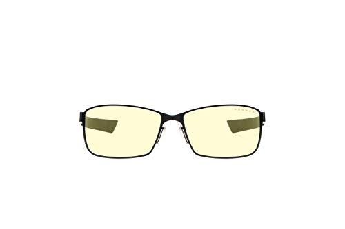 Gunnar Gaming- und Computerbrille | Vayper, Onyx Rahmen, Amber Linse | Blue Light Blocking Glasses | Patentierte Linse, 65% Blaulicht- & 100% UV-Lichtschutz zur Verringerung der Augenbelastung