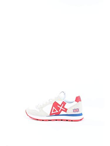 Sun 68 Zapatos Hombres Z30111 TOM Logo Patch Flag Talla 42