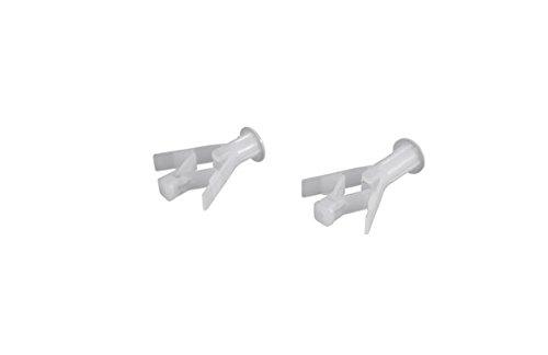 Sysfix 2162100 Taco fijación alas HAV, para paredes tipo carton/yeso, 8 x 35 mm, Set de 100 Piezas