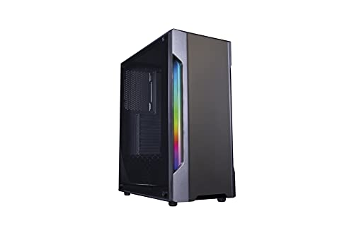 Ordenador PC LUMAR Intel Core I7 8700 8ª Gen. (6x4,6GHz) 16GB RAM DDR4, 240 SSD + 1TB HDD, USB 3.1, GEFORCE GTX 750 Ti 4GB, HDMI, Win 10 Trial