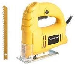 takestop® Sierra alternativa profesional eléctrica de 400 W, hoja de acero inoxidable, ajuste de velocidad, botón de bloqueo