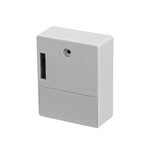 Noblik Cerradura electrónica del gabinete del RFID DIY para el gabinete del cajón de madera, listo para el uso y programable