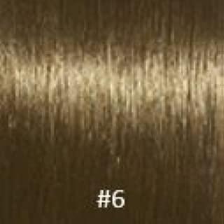 Virgin U-Tip Brazilian Jackson Curly Hair,#6 Chestnut Brown,10 Inch