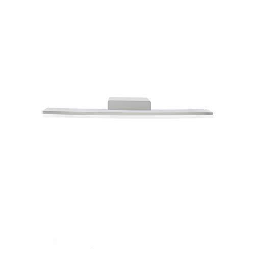 K-Bright Lámpara de pared LED, lámpara de espejo de baño, IP 44, lámpara de espejo para baño, 18W, diseño arriba y abajo, 60cm, blanco, blanco natural