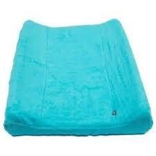 Quax-Funda para colchón de cambiador Terry 70 x 50 cm azul