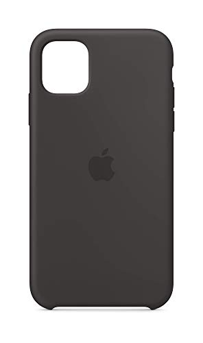 Apple Custodia in Silicone (per iPhone 11) - Nero