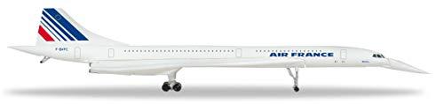 Herpa 532839 Air France Concorde-Nose down Position, Wings/vliegtuig om te verzamelen, meerkleurig