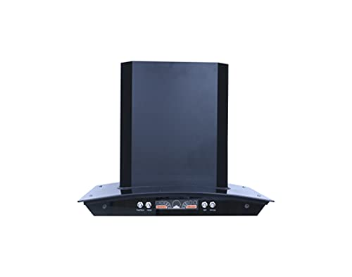 Femerell 60 cms Wall Mount Kitchen Chimney with Bluetooth Connectivity, Copper Motor & Metal housing specially designed for Indian homes