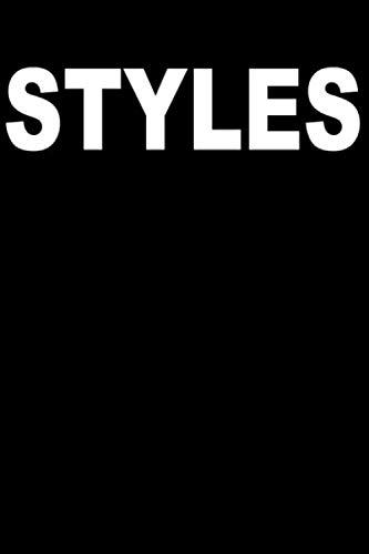 STYLES | Mein Notizbuch | Skizzenbuch: Punktraster # DotPad (punktiert) - Format 15 x 23 cm (~ Din A5) - 120 Seiten