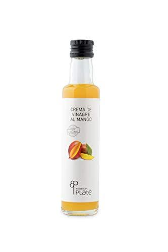Crema de vinagre PLATÉ al Mango 25 cl. Producto Islas Canarias.
