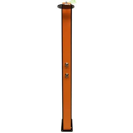 Crm-Cross-Ducha solar 40 L, color naranja