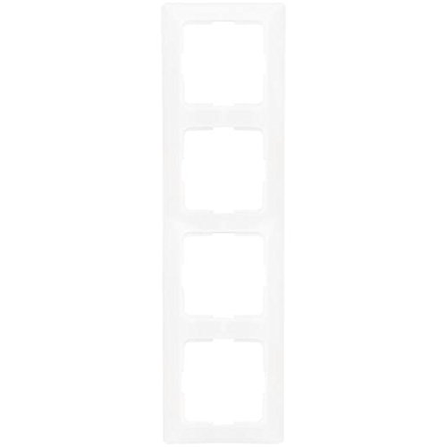 Legrand 4-fach Rahmen Creo, ultraweiß, 776204