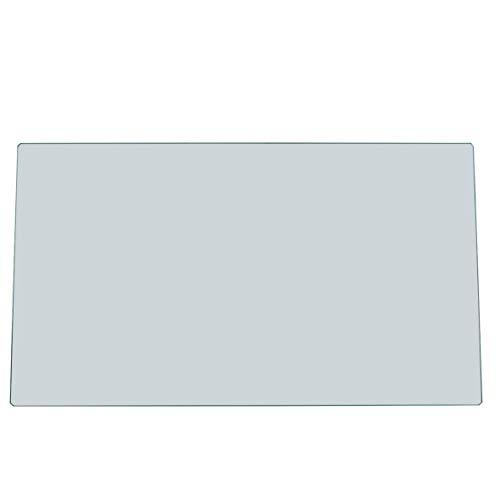 AEG Electrolux 224906116 2249061165 ORIGINAL 476x276x4mm Fach Ablage Boden Abstell Glasplatte Regal Boden Einschub Kühlschrank Kühl-Gefrier-Kombination Kühlgerät Kühlautomat auch Juno Zanker Zanussi