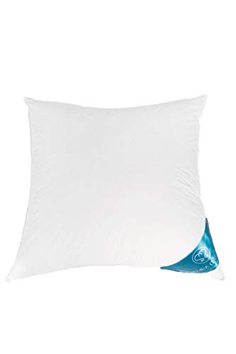 Mayyadi Home Kopfkissen Daunenkissen Kissen 50% Federn - 50% Daunen 1500gr (80x80cm)