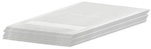 Rosenstein & Söhne Bolsa de vacío: 50 bolsas de aluminio profesionales para envasadoras al vacío de barras, 20 x 30 cm (Láminas de vacío)