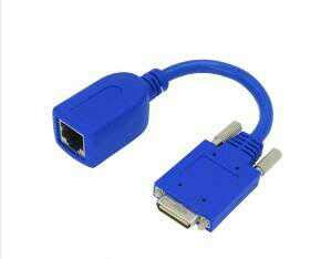 Sukvas 18CM Router Cable Smart Serial RJ45 Female ADA-SSC-GM= for Cisco WIC-2T/WIC-2A/S HWIC-2T - (Cable Length: Other)