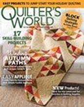 quilter's world magazine autumn 2018 17 skill building projects