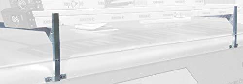 Rack 'Em Fitz-All Adjustable Aluminum Trailer Ladder Rack (RA-28) for Enclosed Trailers