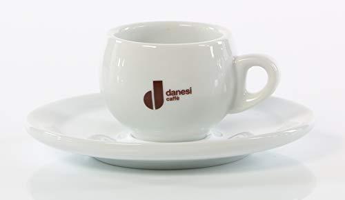 6x Danesi Espresso Tassen Service