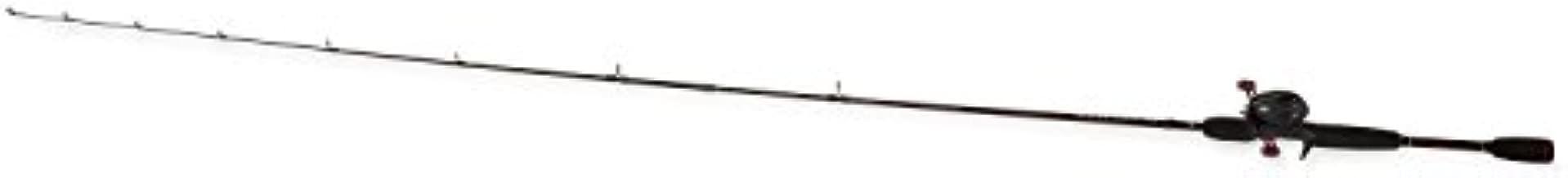 Abu Garcia BMAX3/701MH Black Max Fishing Rod and Baitcast Fishing Reel Combo, 7 Feet, Medium Heavy Power