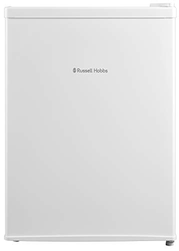 Russell Hobbs RHTTF67W 66 Litre Reversible Doors F Table Top Mini Fridge, White