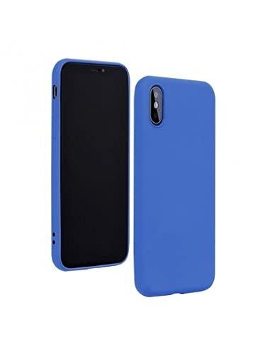 Capa Silicone Lite Lmobile Redmi 8A - Azul