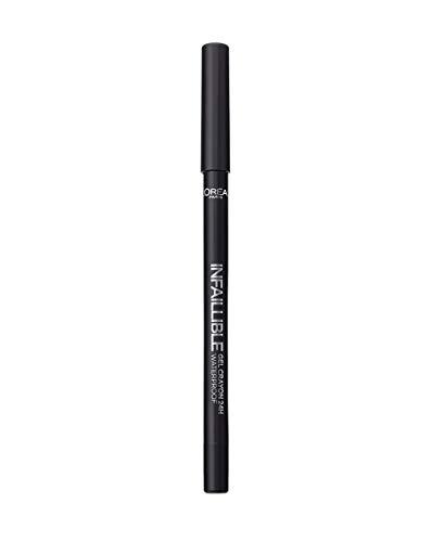 L'Oréal Paris Infaillible Gel Crayon Yeux Waterproof 01 Back To Black
