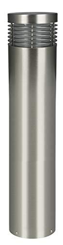 HEITRONIC Edelstahl Außenleuchte V2A Kalligrafie Balken für E27 LED 60 cm