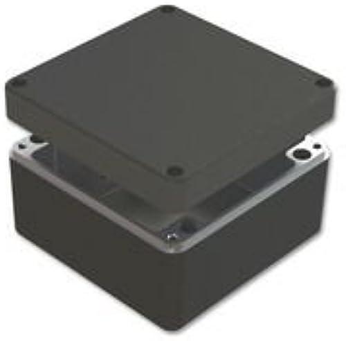 Deltron Enclosures Enclosure, DIECAST Aluminium, schwarz 487-161609E