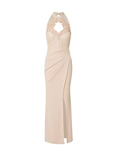 Lipsy London Damen Kleid ärmellos Sand (21) 40