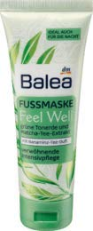Balea Fußmaske Feel Well, 1 x 75 ml