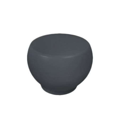 Grandecoracion.com Mesa Exterior - Interior, mesita Auxiliar Color Gris Oscuro, Modelo OU