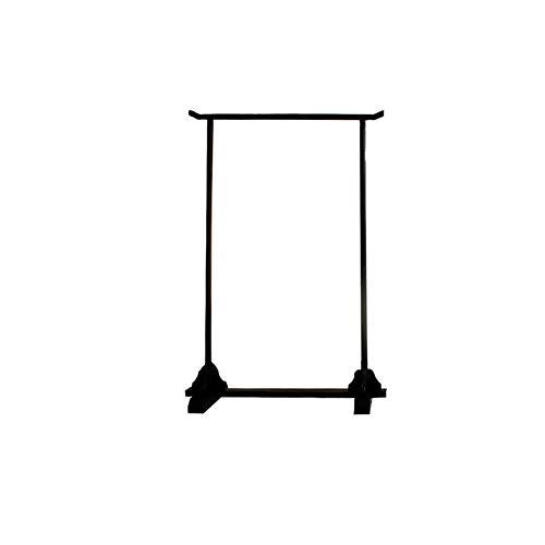 LEILEI Perchero para Ropa Resistente,Perchero de Madera para Ropa,de pie,Resistente,Perchero,Organizador de Perchas Vintage,Soporte de exhibición-b 47x59 Pulgadas (120x150cm)