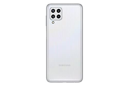 Samsung Galaxy M32 Android Smartphone ohne Vertrag, 6,4-Zoll -Infinity-U-Display, starker 5.000 mAh Akku, 128 GB/6 GB RAM, Handy in White, deutsche Version exklusiv bei Amazon - 3