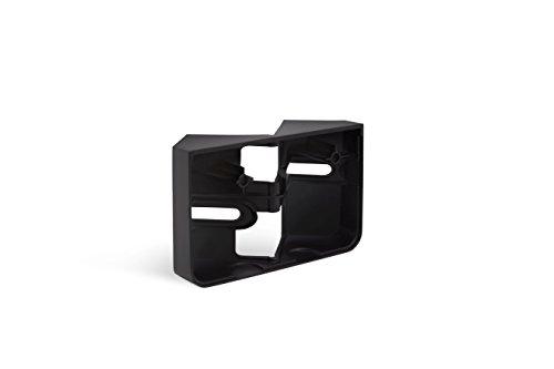Steinel Eckwandhalter für LED-Strahler XLED home 2 schwarz, Zubehör zur Befestigung an Innen- und Außenecke