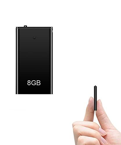 Voice Recorder, TDW Mini Voice Activated Recorders Recording Device 8GB...
