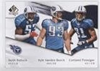 Cortland Finnegan; Keith Bulluck; Kyle Vanden Bosch (Football Card) 2009 SP Authentic - [Base] #200