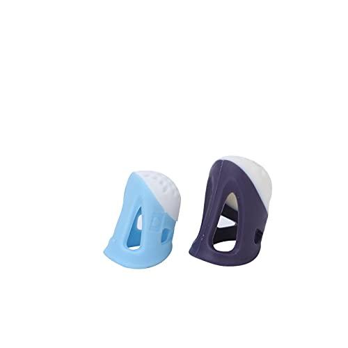 Dedal de costura, 2 peças de luva dedal Ferramentas de costura faça você mesmo. Polegar para bordados com agulha