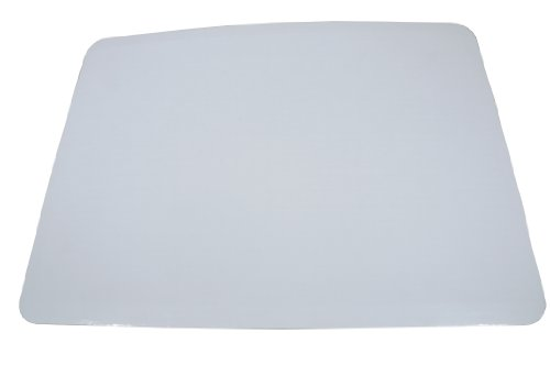Southern Champion Tray 1153 Corrugated Greaseproof Single Wall Cake Pad, Half Sheet, 19' L x 14' W, Bright White (Case of 50)