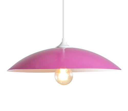 Lussiol 258611 Suspensions d'éclairage intérieur, Fuschia/Blanc