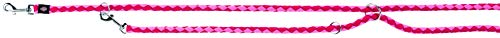Trixie 143510 Cavo V~Leine, S–M: 2,00 m/ø 12 mm, flamingo/fuchsia